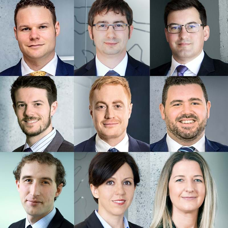 photos of senior associates who have been promoted