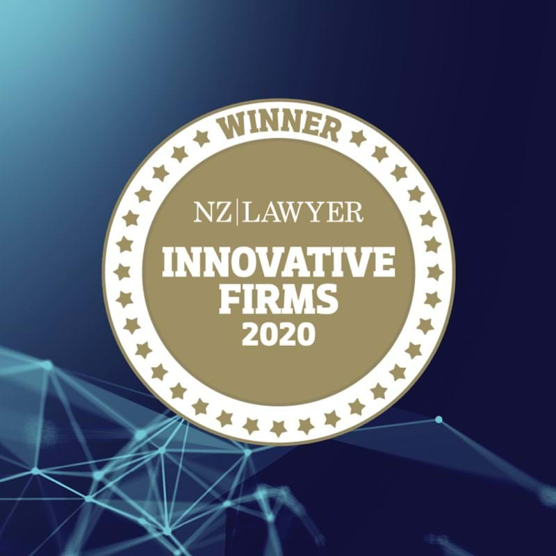 2020 nz lawyer innovative firm graphic